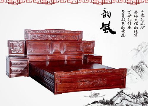 红木家具的卧室文化